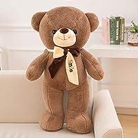 LOVEYUNHJG Plush Toy Collar Knot Bear Creative Doll Valentine