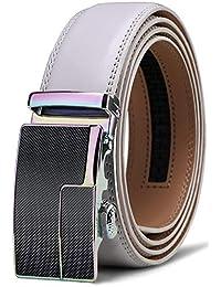 BULLIANT Hombre Cinturón-Cuero Automática Cinturón De Hombre 35MM-Tamaño  Ajuste 377eb9b1f2db