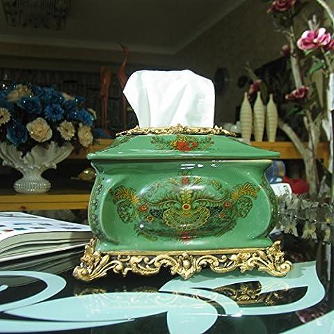 Carta ceramica casella di lusso esclusivo a mano che ,23 17*16cm