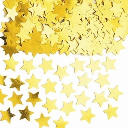 Amscan International Sternenstaub Goldenen Sternen Tisch Konfetti Streuseln 14g (5er Pack)
