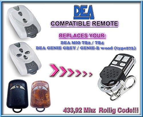 DEA MIO TR2 / DEA MIO TR4 compatible mando destancia