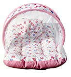#5: Amardeep and Co Toddler Mattress with Mosquito Net (Pink) - MT-01-Pink