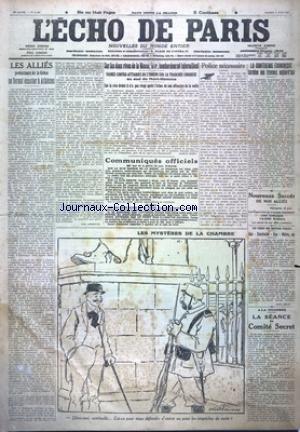 ECHO DE PARIS (L') [No 11628] du 17/06/1916