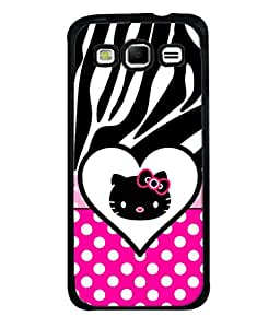 Fuson Designer Back Case Cover for Samsung Galaxy S3 I9300 :: Samsung I9305 Galaxy S Iii :: Samsung Galaxy S Iii Lte (Kitty Cat Polka Dots Girls Bow)