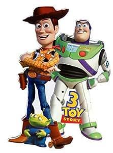 """XL Giant 33"""" Toy Story Woody Jessie Bullseye DECOWALL Sticker Kids Nursery"""