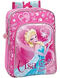 237d5f0333 MEDIA WAVE store 4252351 Zaino a spalla scuola Elsa ( Frozen ) Disney 30 x  40