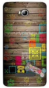 Meraki Silicone Soft Printed Back Cover For Micromax Canvas Spark 3 Q385