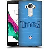 Official NFL Distressed Tennessee Titans Logo Hard Back Case for LG G4 / H815 / H810