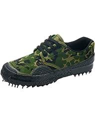 Juleya zapatillas de lona transpirables Zapatos casuales hombre zapatillas deportivas de camuflaje al aire libre zapatos de senderismo zapatillas antideslizantes duraderas