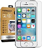 [2 Pack][Lifetime Warranty]iPhone SE 5S 5 5C Glass Screen Protector, InaRock 0.26mm 9H Tempered Glass Screen Protector for iPhone 5S 5 5C Most Durable [Easy-Install Wings]