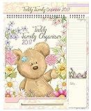 2018 Calendario Organizzatore di Famiglia, Blocco note, Lista di Shopping Penna - Orso con Fiori