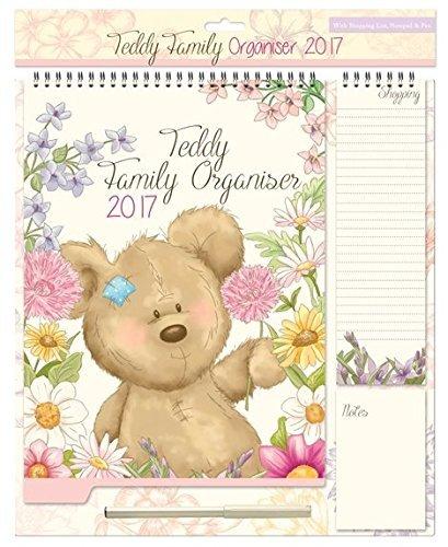organizador-familiar-2017-calendario-bloc-de-notas-lista-de-la-compra-diseno-de-oso-con-flores