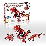 Fight Flame Dragon - 3in1 Baukasten mit 207 Teilen, Change Union Serie,0390 - Sammle alle 4 Sets und baue den großen SA