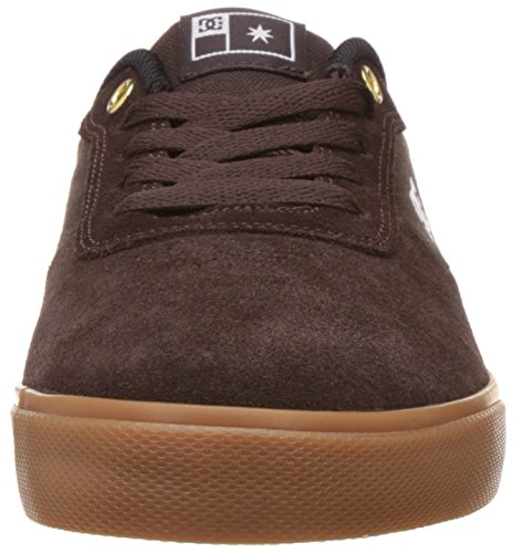 DC Shoes - DC Argosy Vulc Shoes - Black/Camo Brown/Gum