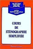 Image de Cours complet de sténographie simplifiée, corrigé