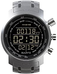 Multifunktionsuhr Armbanduhr 'Elementum Terra' full steel - Höhenmesser Kompass Barometer