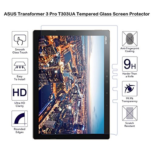 ASUS-Transformer-3-Pro-T303UA-Tempered-Glass-Screen-Protector-Fiimi-Screen-protector-for-ASUS-Transformer-3-Pro-T303UA9-H-Hardness-03mm-ThicknessMade-From-Real-Glass