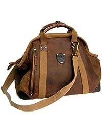 Le sac Kakadu Traders Large Doctors Bag de cuir, 10L07