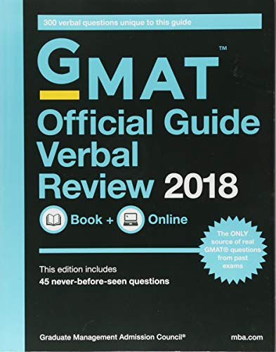 Official Guide for GMAT Verbal Review 2018 + Online por Graduate Management Admission Council (GMAC)