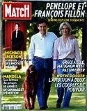 PARIS MATCH [No 3204] du 14/10/2010 - PENELOPE ET FRANCOIS FILLON - L'AMBITION A DEUX - LES COUPLES DE POUVOIR - MANDELA / SES LETTRES DE PRISON - 30 ANNEES DE COURAGE ET D'EMOTION - MICHAEL JACKSON / LA SEANCE OUBLIEE - DES PHOTOS INEDITES
