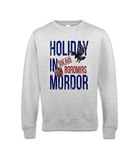 Dead Boromirs Holiday In Mordor Sweatshirt - Ash XX Large (52