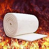 Ceramica Fibra Coperta Aluminum silicato ad Alta Temperatura Isolamento in Fibra ignifugo per Stufa a Legna caminetti ago Caldaia, Thickness: 20mm