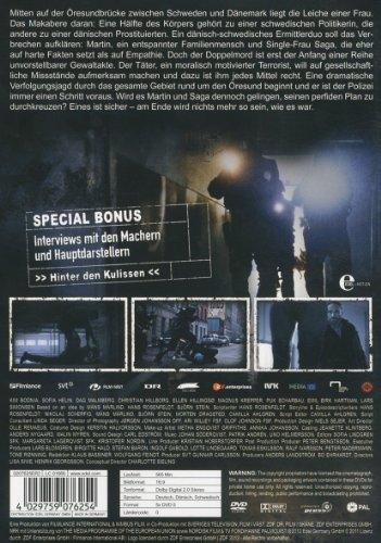 Die Brücke - Transit in den Tod, Staffel 1 [5 DVDs]: Alle Infos bei Amazon