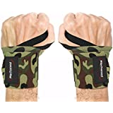 """Wrist Wraps by Rip Toned - 18"""" Professional Grade With Thumb Loops - Wrist Support Braces for Men & Women - Weight Lifting, Crossfit, Powerlifting, Strength Training - Bonus Ebook - Lifetime Warranty"""