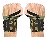 Wrist Wraps by Rip Toned - 18' Professional Grade With Thumb Loops - Wrist Support...