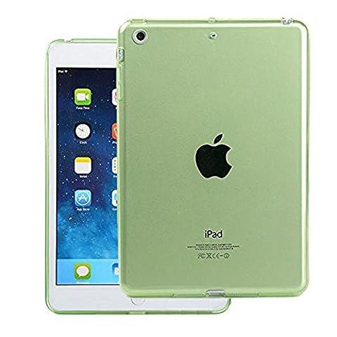 FAS1 iPad Mini Coque En Silicone, Nouvelle Coque En TPU Gel Souple Transparent Coque Arrière De Protection d'Écran Pour Apple iPad Mini 1/2/3