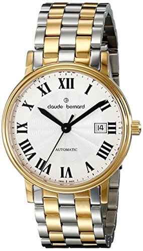 Claude Bernard Men's 80085 357J AR Classic Automatic Analog Display Swiss Automatic Two Tone Watch