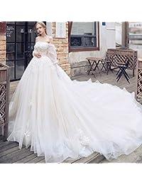995399c137fc WFL Sogno della Principessa della Principessa della Spalla della Parola  della Corte della Lunga Coda della Sposa del…
