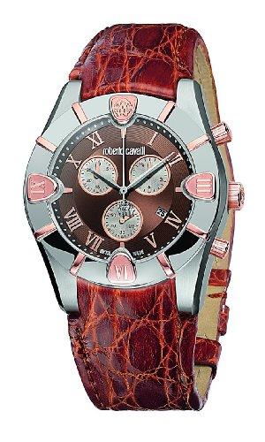 Roberto Cavalli Diamond Time 7251616055 - Orologio da uomo