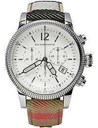 BURBERRY BU7820 - Reloj para mujeres, correa de tela