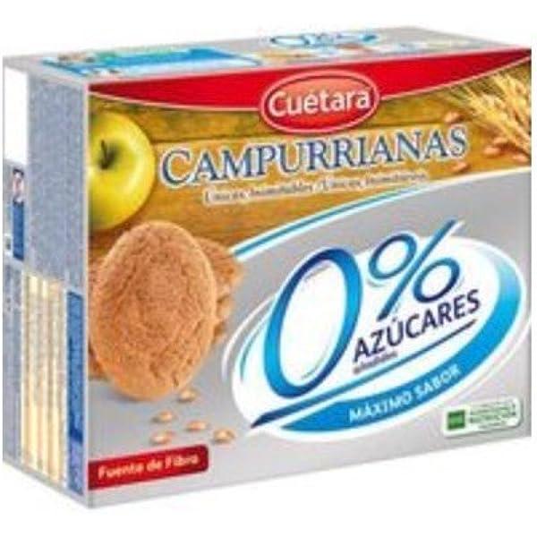 Campurrianas Caja de Galletas sin Azúcar - 400 gr: Amazon.es ...