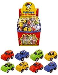 Henbrandt Spielzeugautos, verschiedene Farben, 60 Stück