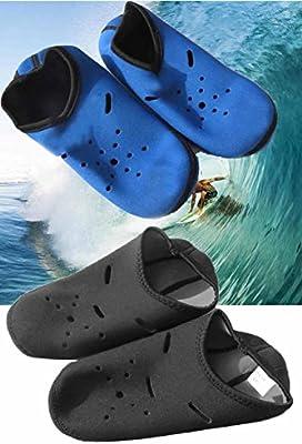 Vococal - 1 par Calcetines Antideslizantes para Natación Buceo Snorkel Playa al Aire Libre para Unisex Mujer Hombre