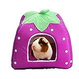 Kaninchen Meerschweinchen Hamster House Bett Kleine süße Tier Pet Winter Warm Eichhörnchen Igel Chinchillahaus Käfig Nest Hamster Zubehör