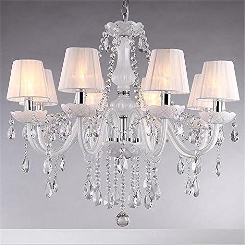 Interior europeo larga araña la fantasía creadora candelabros-652 Vela lámparas de iluminación lámpara de techo?caliente /