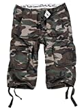 Surplus Trooper Legend 3/4 Shorts, Light Woodland, Größe XXL