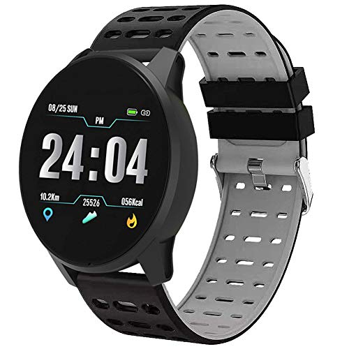 Smart Watch B2, Tracker Fitness Impermeabile, frequenza cardiaca e monitoraggio della Pressione arteriosa Calorie/Contatore Smart Sports Watch - per Android e iOS