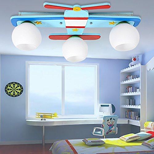 Kinderzimmer Deckenleuchte Flugzeug Lampe Junge Schlafzimmer Ideen