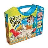 Goliath 83236 | Super-Sand Koffer Cats-and-Dogs | handlicher Sandkasten zum Mitnehmen | baue Deinen Hund oder Katze aus Super-Sand | süße Haustier-Förmchen zum Formen | ab 4 Jahren
