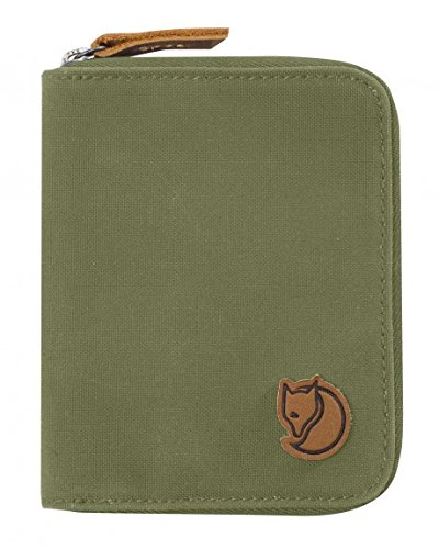 Fjallraven Mens Zip Wallet Green Verde|Verde oliva