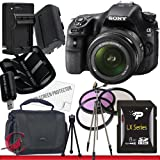 Sony Alpha SLT-A58K SLT-A58 DSLR Digital Camera With 18-55mm Lens 8GB Package 2