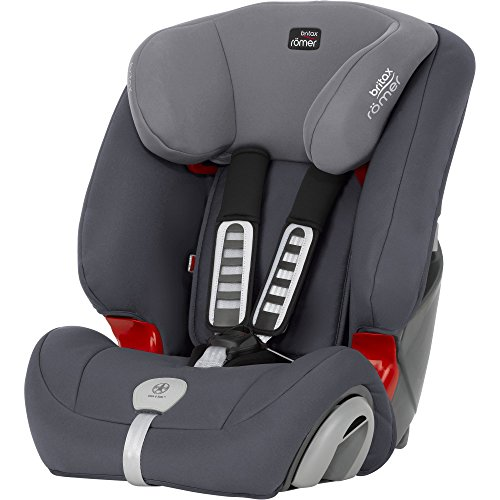 Britax-Romer 2000025686 Evolva 1-2-3 Plus Seggiolino Auto, Storm Grey