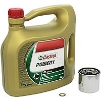 Castrol 4055029023352 Número 1 Cambio de aceite Castrol Power 1 juego 10W / 40 de aceite