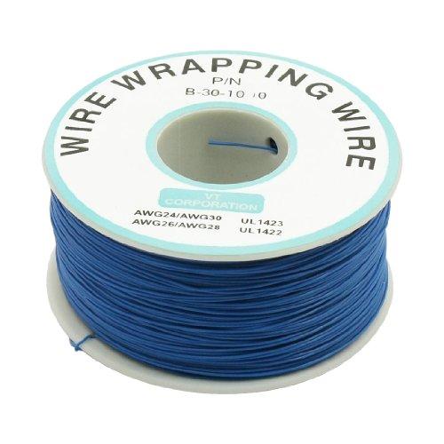 Jtag Jig (sourcingmap® 200M 30AWG verzinnt soliert Wickeldraht löten Wire Wrapping Kabel Rolle blau de)