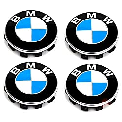 Set of 4 Wheel Centre Hub Caps Wheel Covers for BMW, Hub Nuts 56 mm, Wheel Rims for BMW Wheel Rims Centre Hub Caps