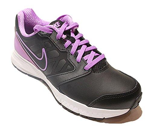 Nike Wmns Downshifter 6 Lea, - homme Noir